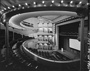 Springer Opera House - Interior of the Springer Opera House in 1980