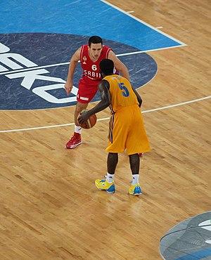 "EuroBasket 2013 - Eugene ""Pooh"" Jeter versus Vasilije Micić as Ukraine plays Serbia"