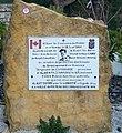 Stèle de l'aviateur canadien David Arthur Cary Fuveau Bouches-du-Rhône France.jpg