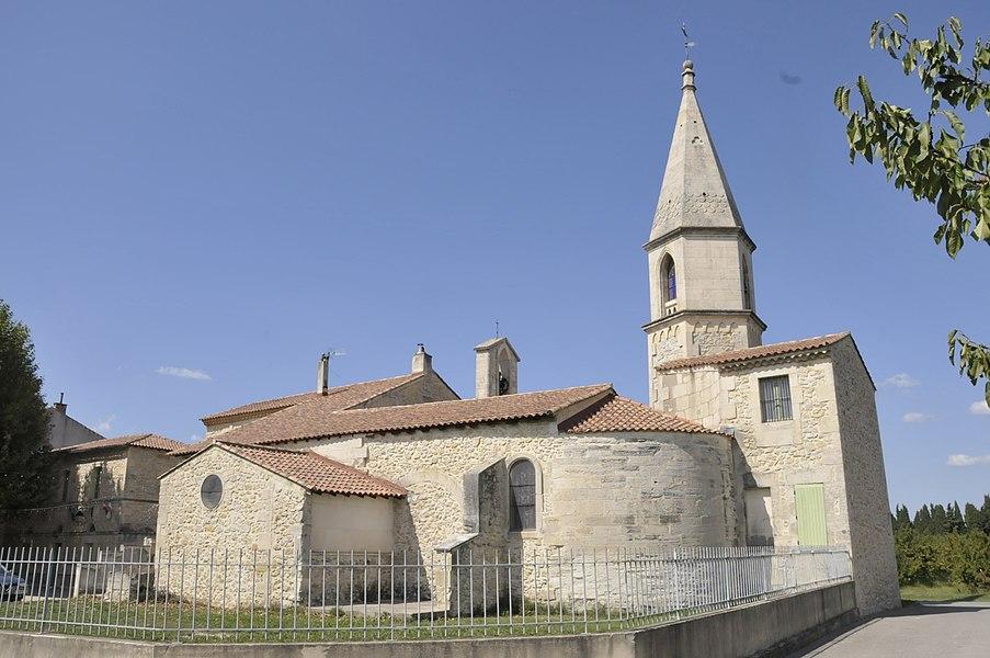 Kirche in Saint-Pierre-de-Mézoarques