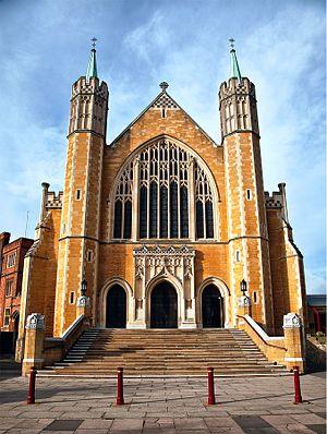 St Benedict's School, Ealing - Image: St. Benedict's School