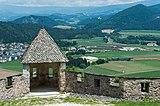 St. Georgen a. L. Burg Hochosterwitz Wehrturm beim Brückentor 01062015 1182.jpg
