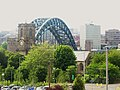 St. Marys Church and the Tyne bridge (geograph 3560570).jpg