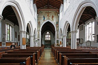 St Andrew's Enfield - Interior of St Andrew's, Enfield