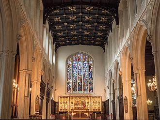 St Margaret's, Westminster - St Margaret's, Westminster interior, 2016