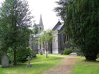 Ampfield - Image: St Marks Church, Ampfield geograph.org.uk 860214