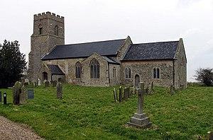 Barney, Norfolk - Image: St Mary Parish Church, Barney, Norfolk
