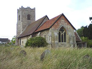 Kirton, Suffolk - Image: St Mary and St Martin, Kirton geograph.org.uk 1388866