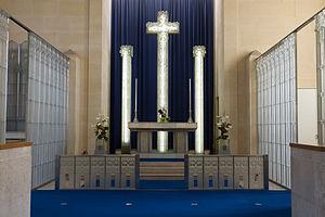 St Matthew's Church, Jersey - Image: St Matthew's Church, Millbrook interior