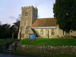 Harwell, Oxfordshire - Image: St Matthews Church, Harwell
