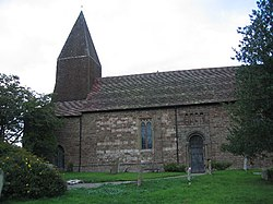 St Michael's Church, Knighton on Teme - geograph.org.uk - 45749.jpg