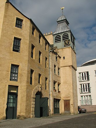 North Leith Parish Church - St Ninian's Manse incorporates the tower of the 17th-century former parish church