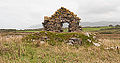 Staad Church West Gable and Cairn 2014 09 01.jpg