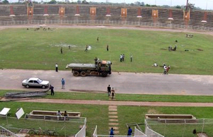 2009 African Nations Championship - Image: Stade de la paix en reconstruction