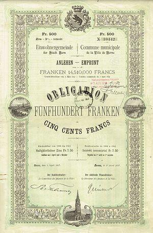 Stadt Bern 1897