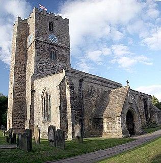 Staindrop village in United Kingdom