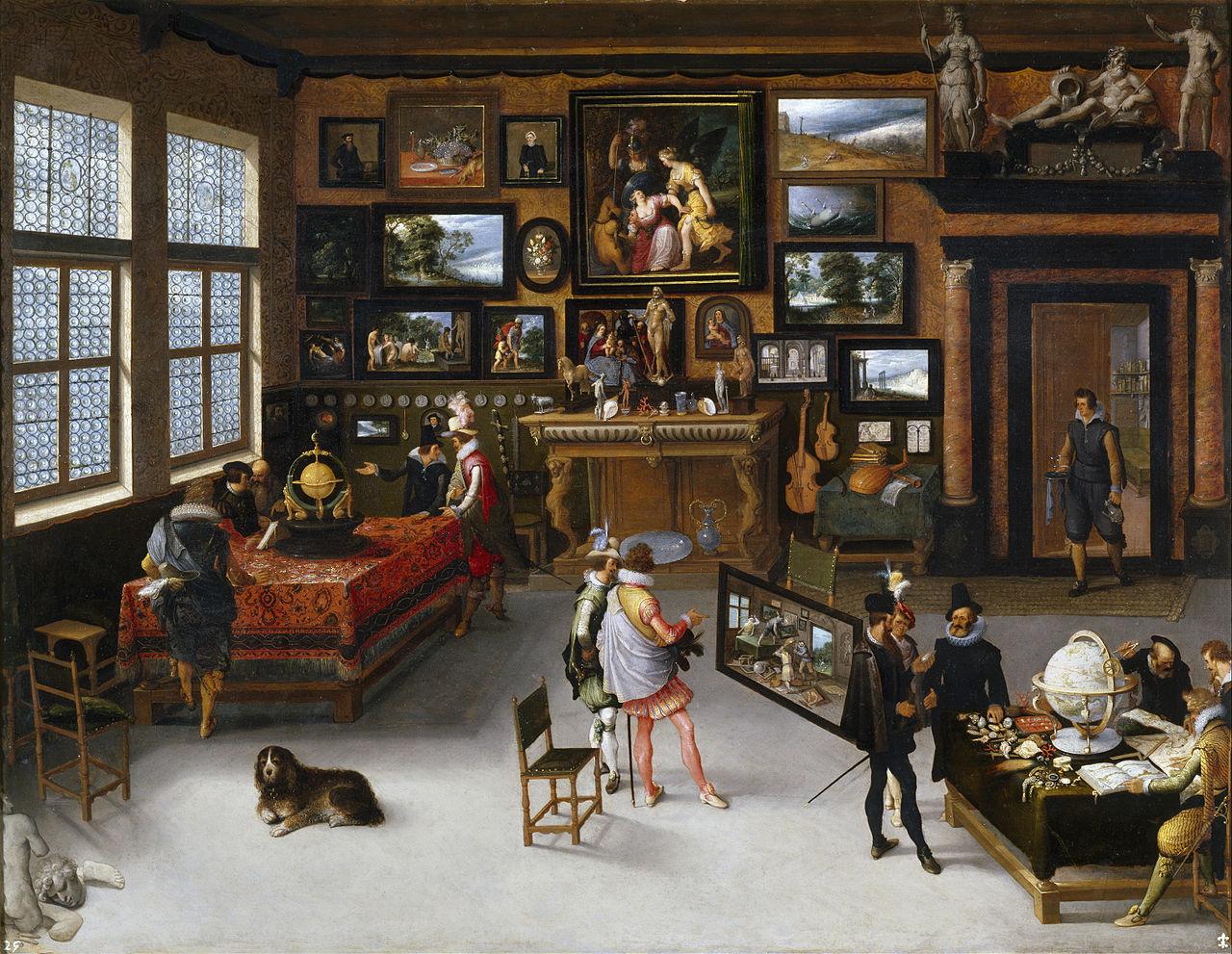 «Las Ciencias y las Artes» hacia 1650. Adriaen van Stalbent