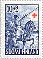 Stamp of Finland - 1955 - Colnect 46213 - General von Döbeln 1758-1820 Mounted.jpeg