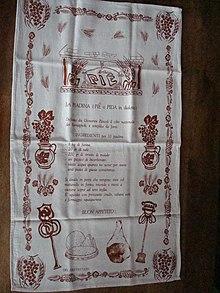 Stampa manuale di una tela