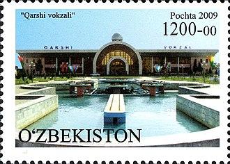 Qarshi - Qarshi railway station