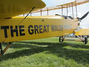 "The Great Waldo Pepper - A Standard J-1 with ""The Great Waldo Pepper"" paint scheme"