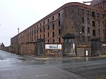 Stanley Warehouse To South Of Tobacco Warehouse, Stanley Dock, Regent Road, Liverpool, Merseyside, England, UK - View 3.jpg