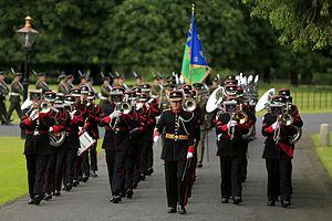 Modern Irish Army uniform - Army No 1 Band in uniform
