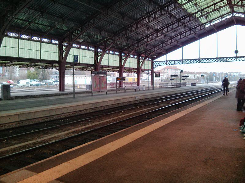 Gare de Troyes, France