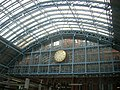 Station clock, St Pancras Station NW1 - geograph.org.uk - 1298581.jpg