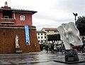 Statua de 'La Vittoria' e vasca marmorea, Forte dei Marmi.jpg