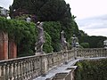 Statuary on the Terrace of Powys Castle - geograph.org.uk - 923572.jpg