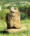 Statue in Mtskheta (near Jvari monastere a Mtskheta).jpg
