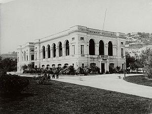 Stazione Zoologica - Stazione Zoologica in the 1890s
