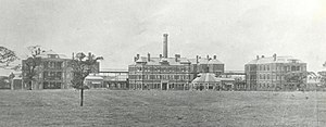 Stepping Hill Hospital - The hospital in 1908, a few years after opening.
