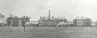 Stepping Hill Hospital - The hospital in 1908, a few years after opening