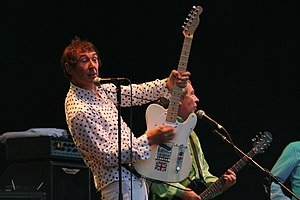Steve Diggle - Diggle with Buzzcocks at the Cropredy Festival
