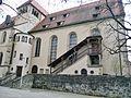 Stiftskirche St. Pancratius, Stifter der Kirche waren Markgraf Hermann von Baden und seine Frau Judith. Grablege der Markgrafen von Baden von Anfang des 12. Jahrunderts bis etwa 1240, sterbliche Überreste seit 1929 in - panoramio.jpg