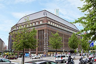 Stockmann, Helsinki centre - The Stockmann department store during summer 2013.