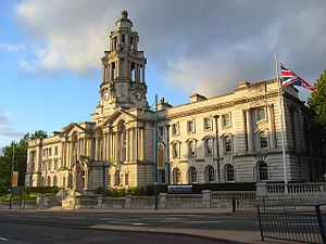 Stockport Town Hall - Image: Stockport Town Hall (1)