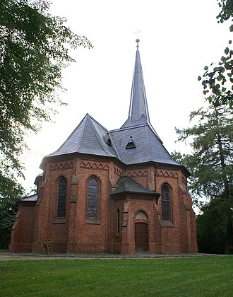 Pomerania during the High Middle Ages - Wartislaw Memorial Church, Stolpe. Ratibor also founded Stolpe Abbey in Wartislaw's memorial.