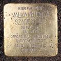 Stolperstein Almstadtstr 7 (Mitte) Malka Ruchla Szarfscher.jpg