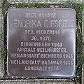 Stolperstein Bocholt Bogenstraße 16 Hendrika Diesfeld.jpg