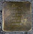 Stolperstein Danziger Str 116 (Prenz) Arthur Wolfberg.jpg