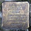 Stolperstein Essener Str 20 (Moabi) Daisy Klein.jpg