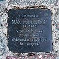 Stolperstein Feddersen Max Westerland.jpg