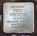 Stolperstein Nachodstr 22 (Wilmd) Fritz Ohrenstein.jpg
