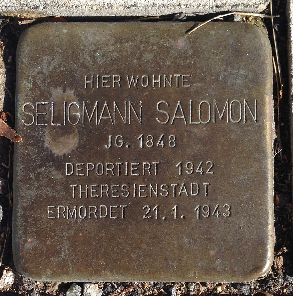 Stolperstein Puderbach Hauptstraße 23 Seligmann Salomon