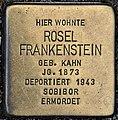 Stolperstein Solingen Elisenstr. 10 Rosel Frankenstein.jpg