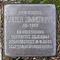 Stolperstein Werdohler Weg 11 (Tegel) Walter Zimmermann.jpg