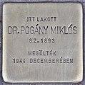 Stolperstein für Dr. Miklos Pogany (Budapest).jpg